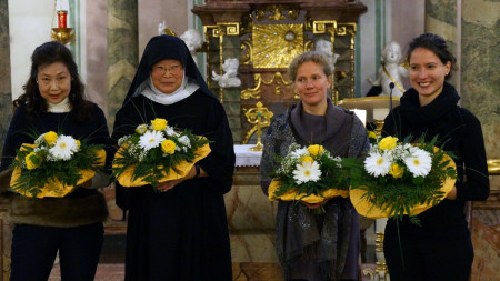 Benefizkonzert Abtei Maria Frieden Oktober 2013