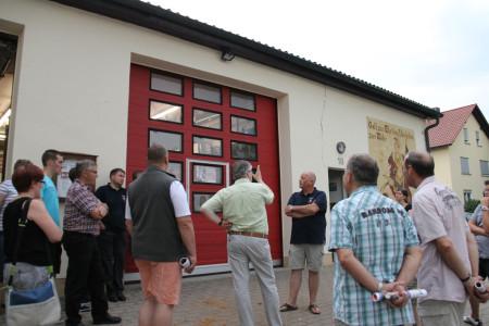 2013 Kemmern Ortstermin GR Feuerwehrgerätehaus 14
