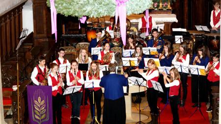 Adventskonzert Musikverein Hallstadt 2013