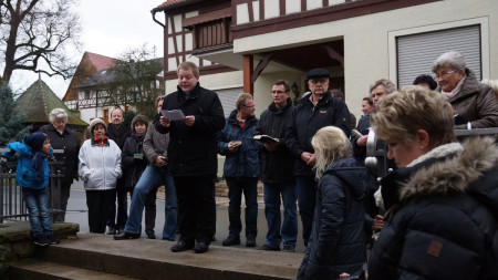 Krippeneröffnung Mürsbach 2013