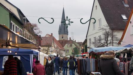 Weihnachtsmarkt Baunach 2013