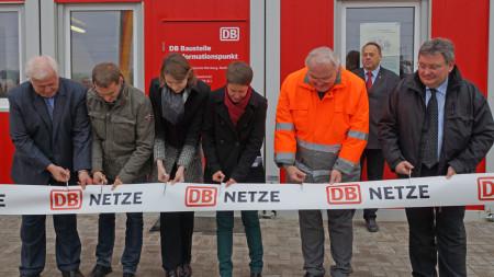 Eröffnung DB Informationspunkt Breitengüßbach 2013