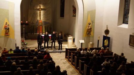 Weihnachtskonzert assonanz Zapfendorf 2013