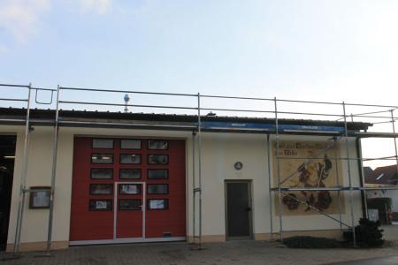 2013 Kemmern neues Dach Feuerwehrgerätehaus