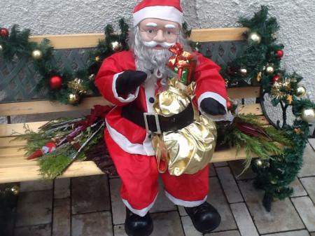 Weihnachtsmann Home Sweet Home 2013