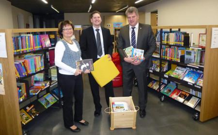 Bücherkistengewinn Baunach 2014