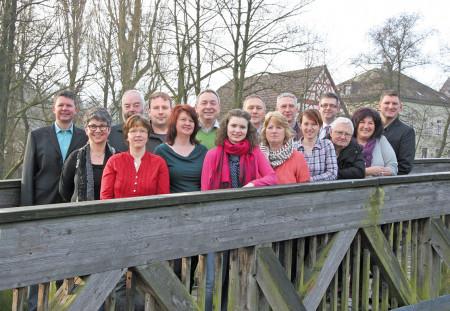 Gruppenfoto CWU Baunach 2014