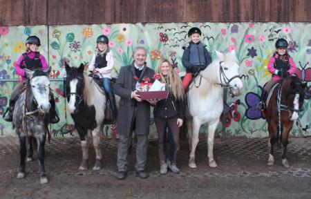 Spende Pferdepartner Franken 2014 1