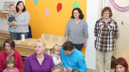 Einweihung neue Kinderkrippe Zapfendorf 2014