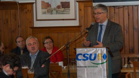 Wahlveranstaltung CSU Kemmern 2014