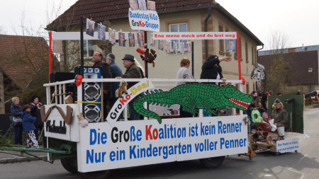 Faschingsumzug Rattelsdorf 2014