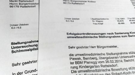 Schreiben Schimmelpilz Schule Rattelsdorf 2014