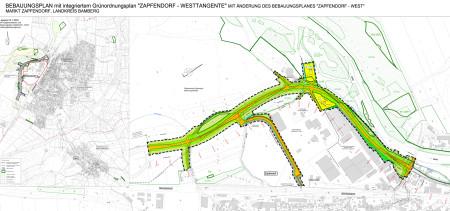 Zapfendorf Westtangente Lageplan 2014