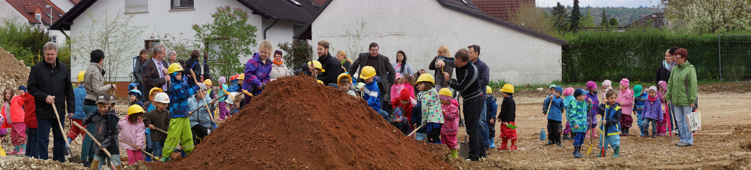 Spatenstich Kindergarten Rattelsdorf 2014