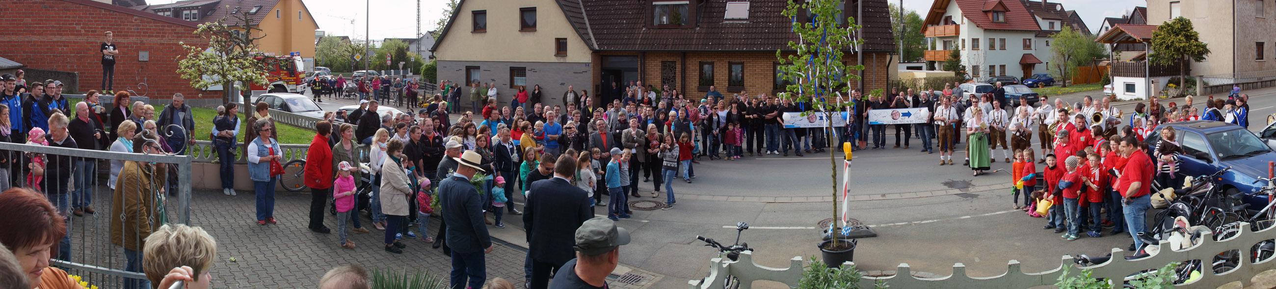 Bürgermeisterbaum Zapfendorf 2014