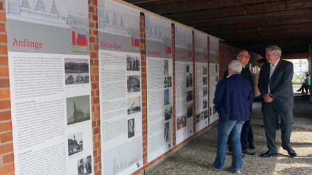 Ausstellung 50 Jahre Johanneskirche 2014
