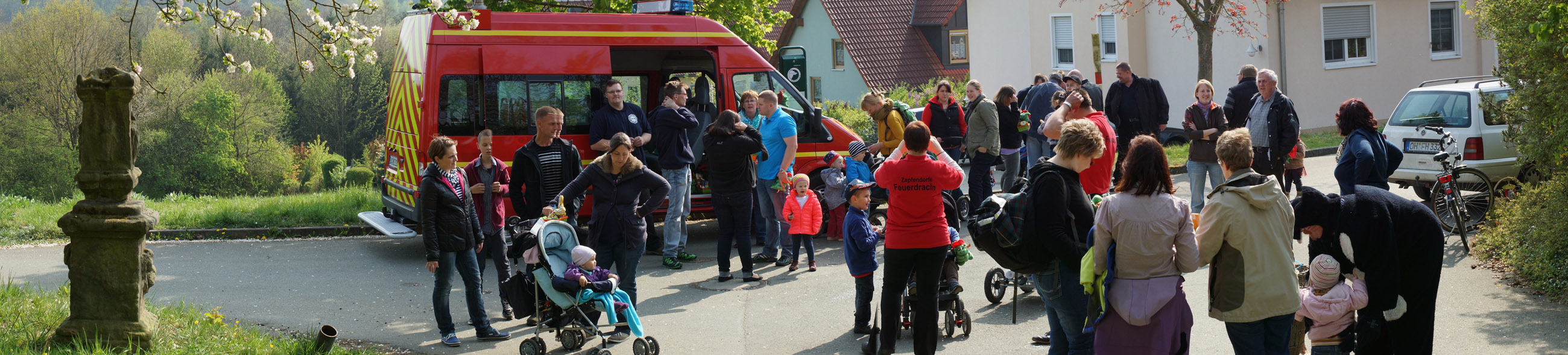 Ostereiersuche Feuerwehr Zapfendorf 2014