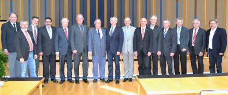 Scheidende Bürgermeister 2014