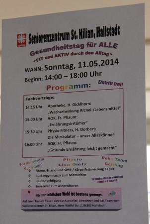 Hallstadt Mai 2014 Seniorenheim Gesundheitstag