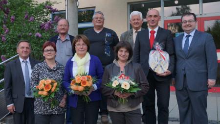 Verabschiedung Stadtrat Hallstadt 2014
