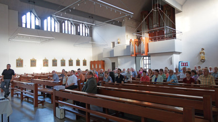 Infoabend Kirche Baunach 2014