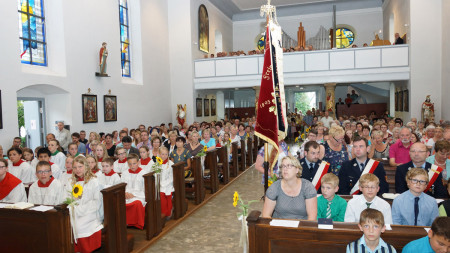 Verabschiedung Pater Charles 2014