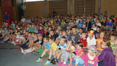 Spendenlauf Schule Rattelsdorf Südsudan 2014