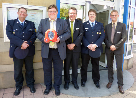 Defibrilator FFW Zapfendorf 2014