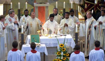 Einführung Pater Charles 2008