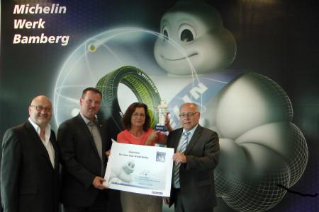 Michelin Reifen Gewinnerin 2014