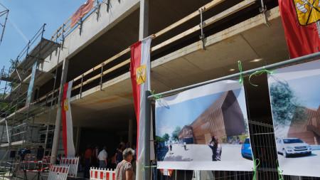 Richtfest Marktscheune Hallstadt 2014 (5)