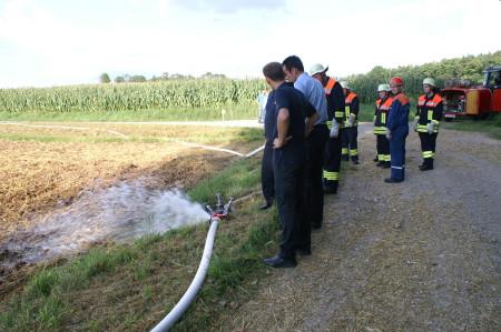 Feuerwehr Medlitz Übung 2014