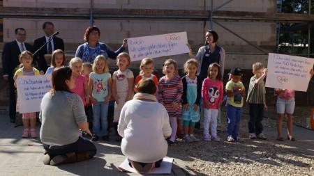 Richtfest Kinderhaus Hallstadt 2014