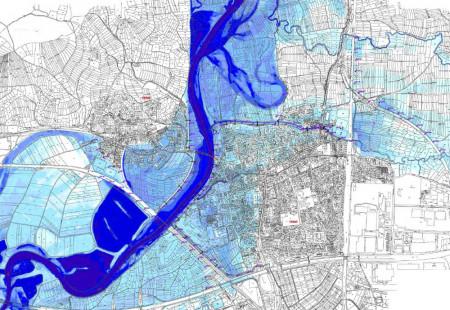 Hochwasserschutz Hallstadt Dörfleins Ist-Zustand