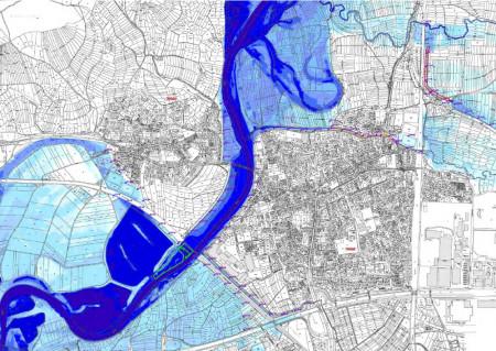 Hochwasserschutz Hallstadt Dörfleins Soll-Zustand