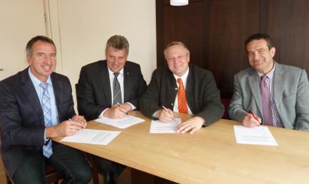 Interkommunale Zusammenarbeit Breitband Baunach 2014