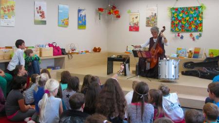 Stadtbücherei Baunach Musikunterricht 2014 (2)