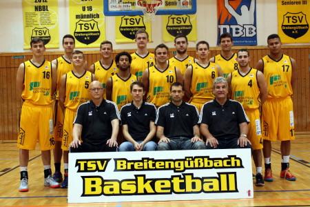 TSV Tröster Breitengüßbach Mannschaft 2014 (2)