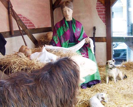 Weihnachtsmarkt Hallstadt 2013 (1)