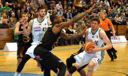 Basketball Baunach Vechta Februar 2015 1