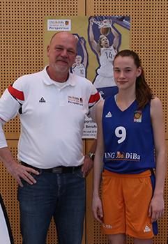 Basketball-Förderung Julia Förner 2015