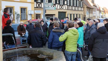 Stadtgespräch SPD Hallstadt 2015