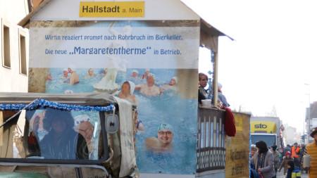 Faschingsumzug Hallstadt 2015 1