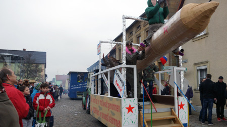 Faschingsumzug Rattelsdorf 2015