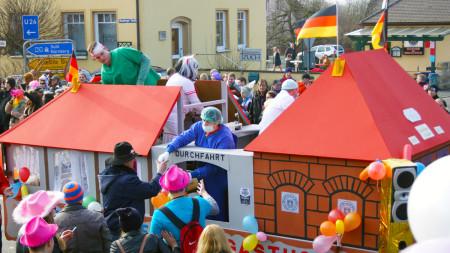 Faschingsumzug Zapfendorf 2015 2