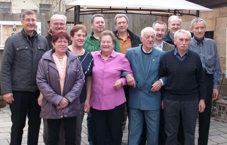 Gründungsmitglieder Götzenköpf Sassendorf 2015