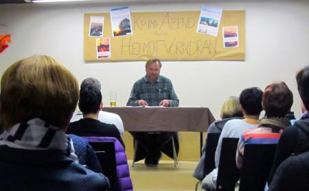Lesung Helmut Vorndran Baunach 2015