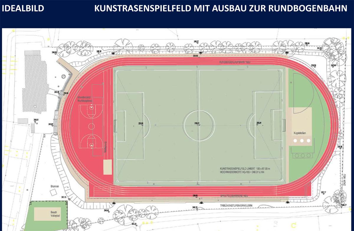 Sportplatz MaГџe
