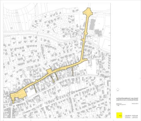Hallstadt im neuen Licht 2015 Plan