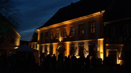 Hallstadt in neuem Licht Start 2015